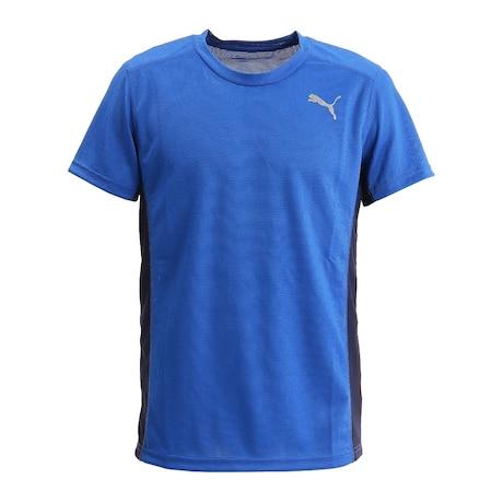 XB ランニングTシャツ 520611 02 BLU