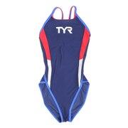 水着 ジュニア 女子 水泳 JRTRFBACK COLOR SPL FCOLRJR-20M NVRD