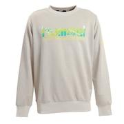 スウェットクルーネックシャツ HAP8224C-01