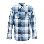 RUSTY ダブルポケットチェックシャツ 929300BLU オンライン価格