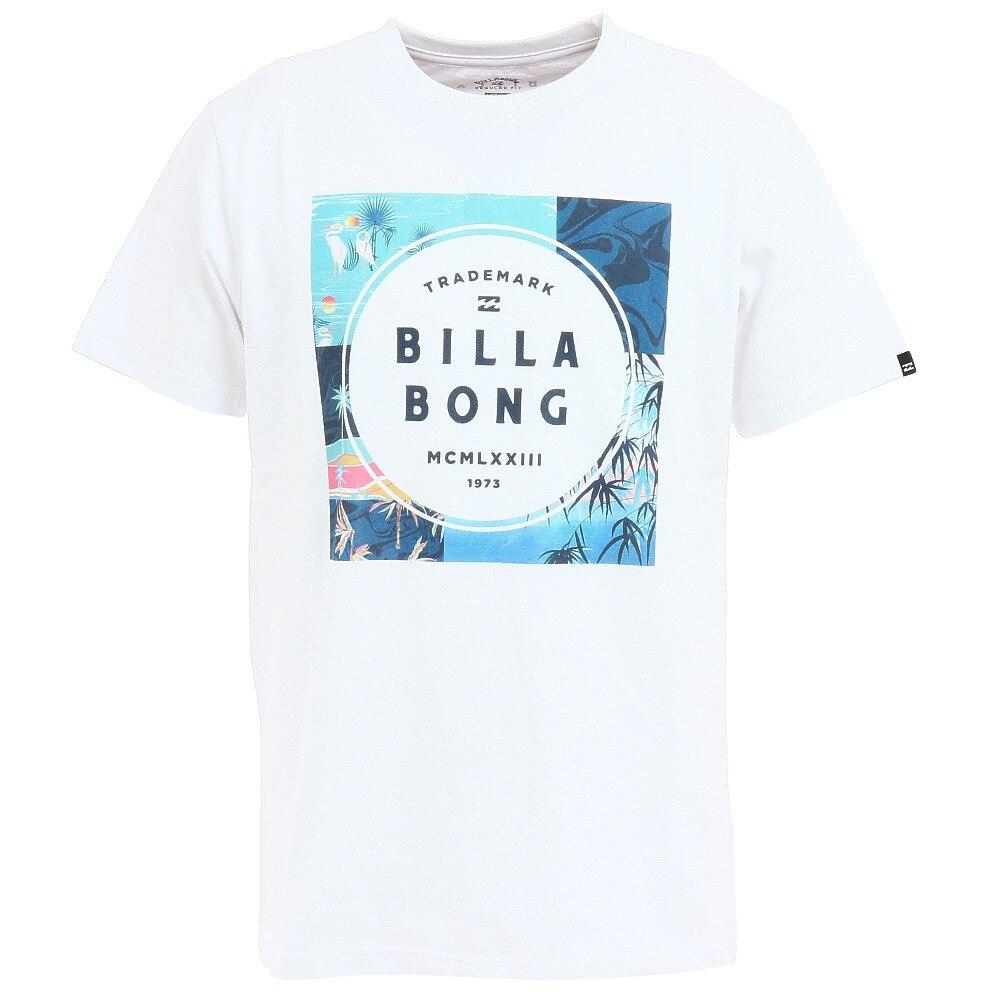 BILLABONG SQUARE LOGO Tシャツ BB011202 WHP L 113 マリン・レジャー