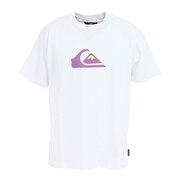 QS COMP LOGO ST Tシャツ 21SPQST211035WHT