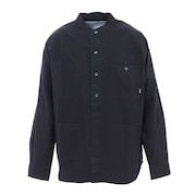 COTTON RIP RAGLAN SHIRT ジャケット 55100303-BLK