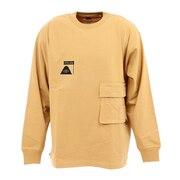 SUMMT HEAVY WEIGHT ダブルポケット ロングスリーブTシャツ 55200365-BEG