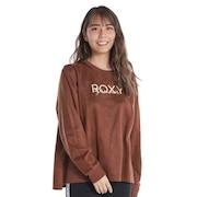 ROXY DREAM フェイクスエード 長袖Tシャツ 21FWRLT214071BRN