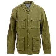 サイプレスミリタリーシャツ 21310005-OLV