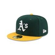 59FIFTY MLB オンフィールド オークランド・アスレチックス ホーム 11449354