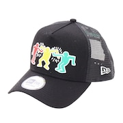 9FORTY A-Frame トラッカー Keith Haring キャップ 12654392