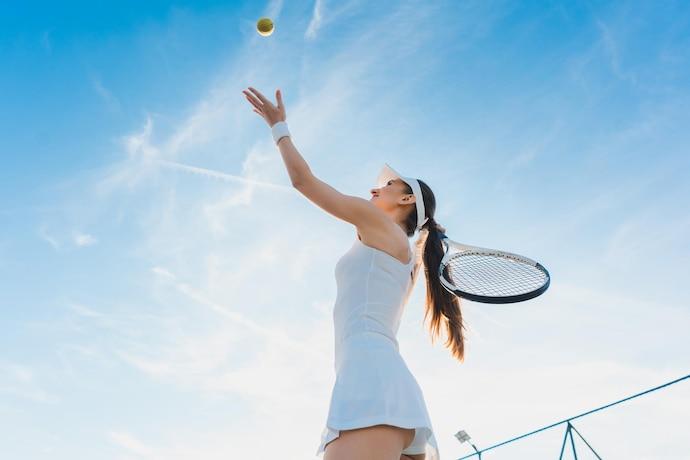 テニスのサーブ練習方法
