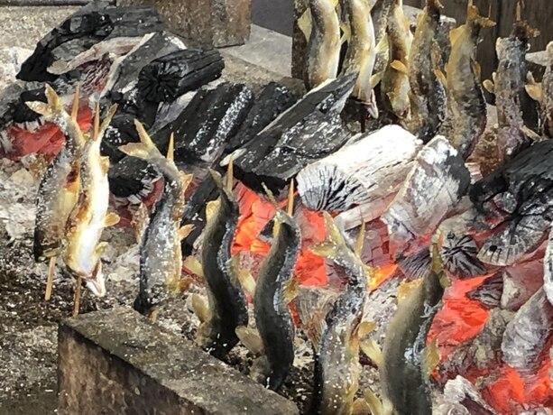 栃木県・日光市周辺のラウンド帰りにおすすめのスポット【川魚・田舎料理 船場亭】