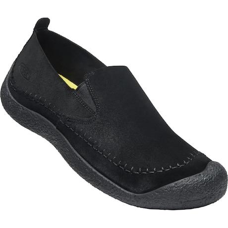 HOWSER SUEDE SLIP-ON BLACK/BLACK