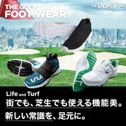 THE GOLF FOOT WEAR 街でも、芝生でも使える機能美。新しい常識を、足元に。