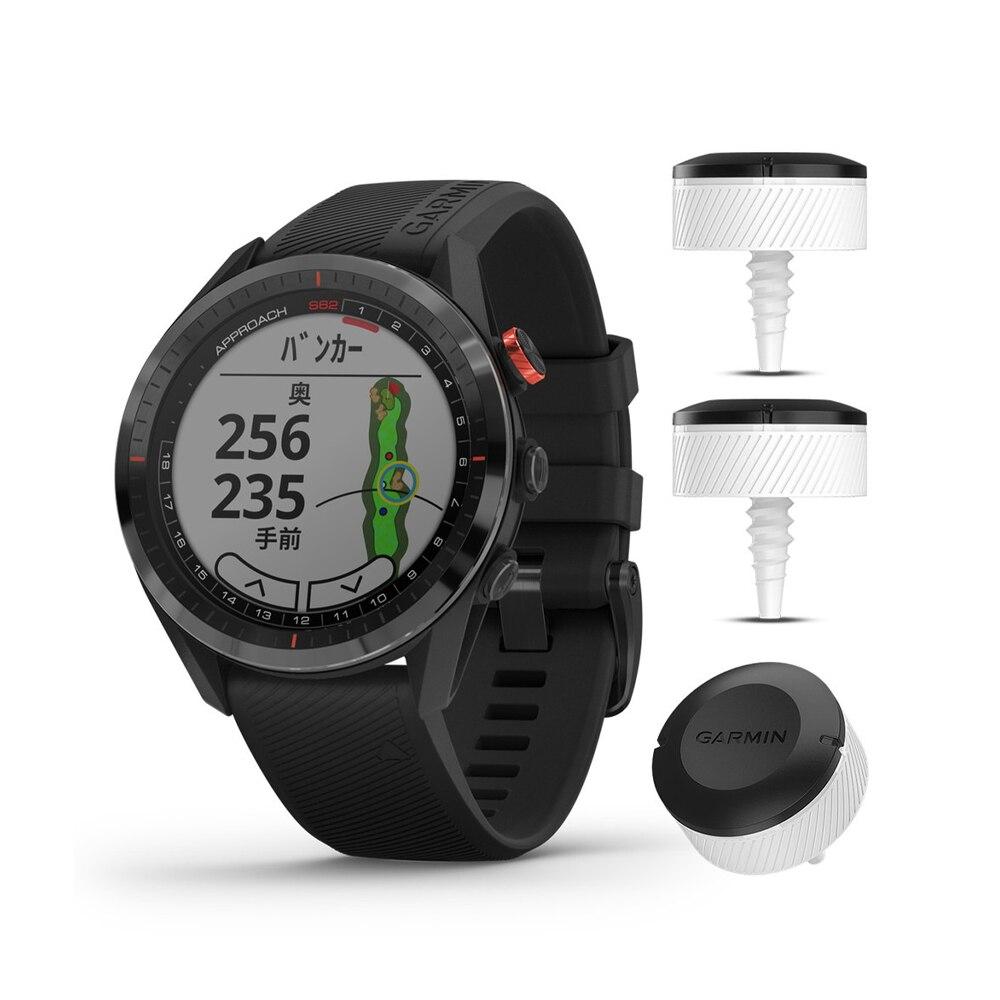 GPSウォッチ アプローチS62 Black CT10同梱版 010-02200-22